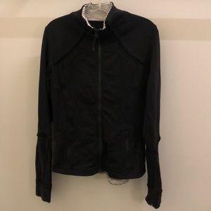 Lululemon black jacket, sz 6, 77117
